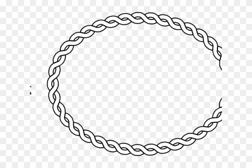 Oval Clipart Rope.