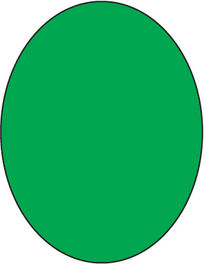 Oval clipart.