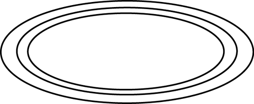 Download Free png Oval Black And White Clipart.