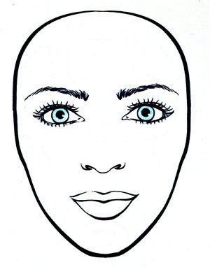 Faces clipart oval face, Faces oval face Transparent FREE.