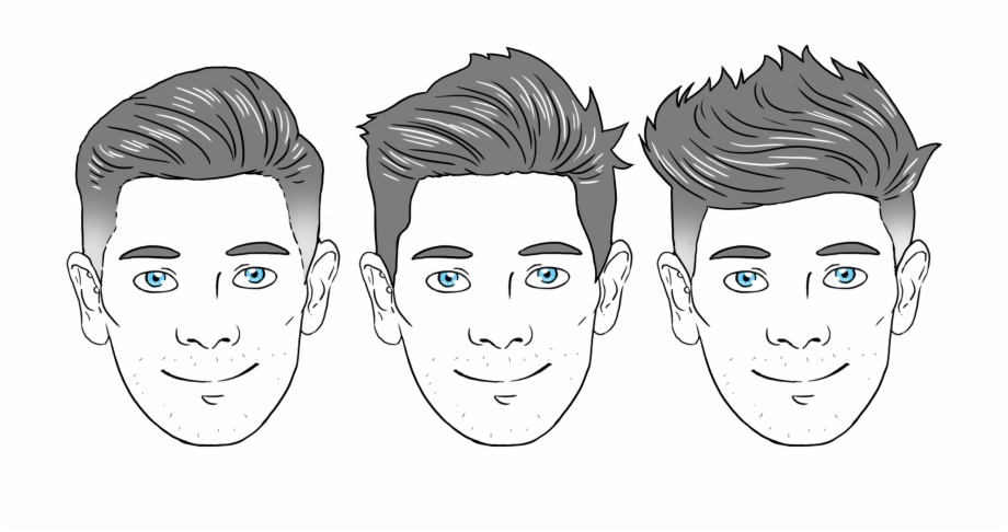 Oval Face Shape Men Png Download Oval Shape.