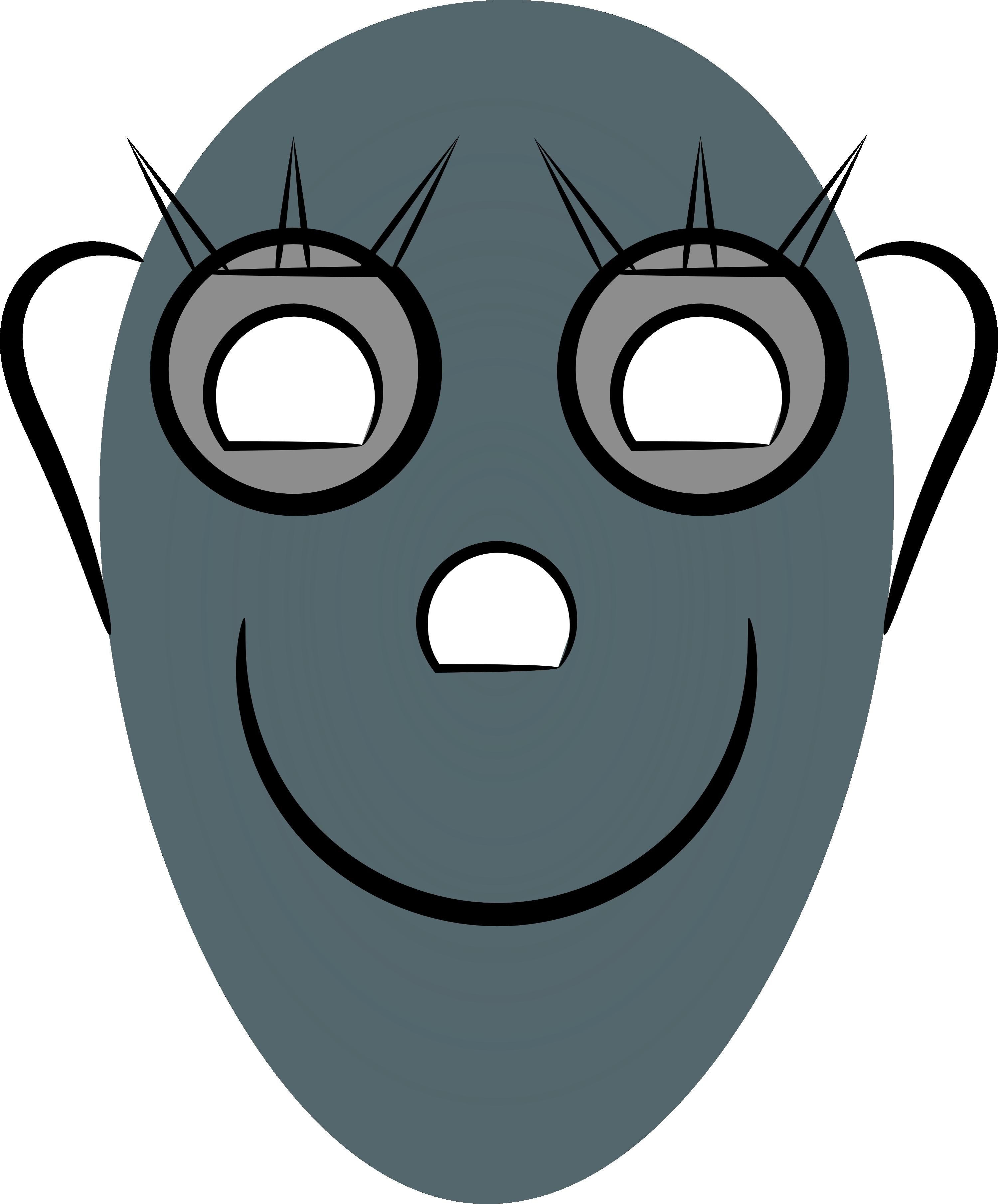 Robot Face Image.
