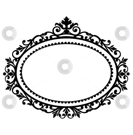 free clipart oval frames.