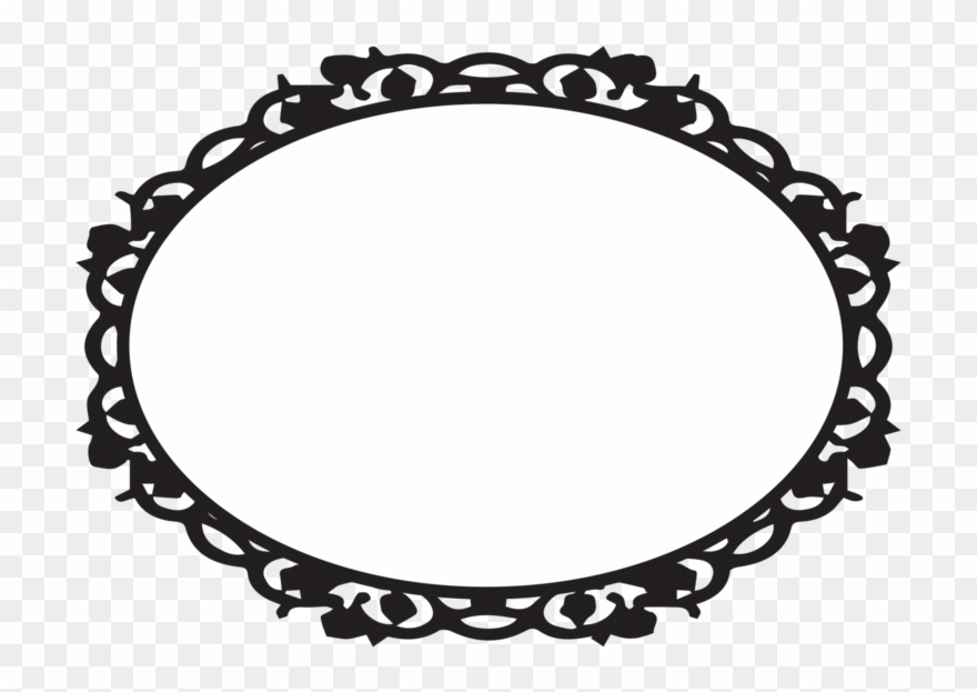 Oval Victorian Frames Clipart Ciij.