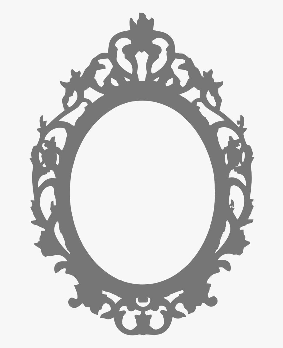 Oval Mirror, Oval Frame, Mirror Tattoos, Vinyl Frames.