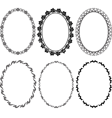 Free Oval Frame Clipart.