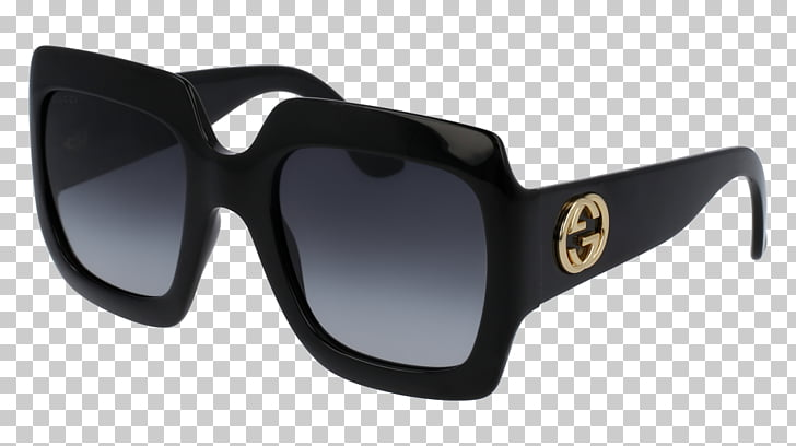 Sunglasses Gucci Fashion Luxury goods, oval frame PNG.