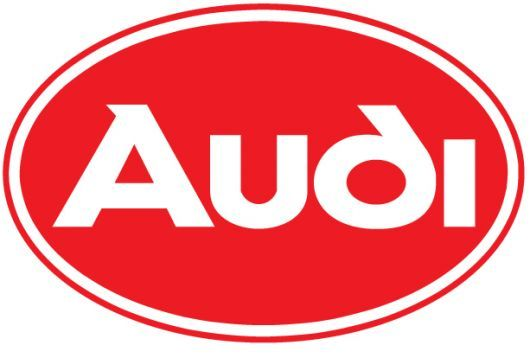audi oval logo red.