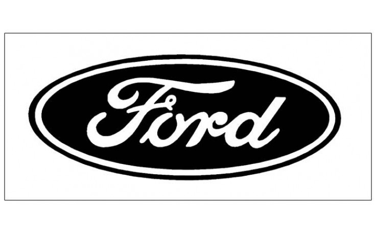 Ford Oval Logo Decal.