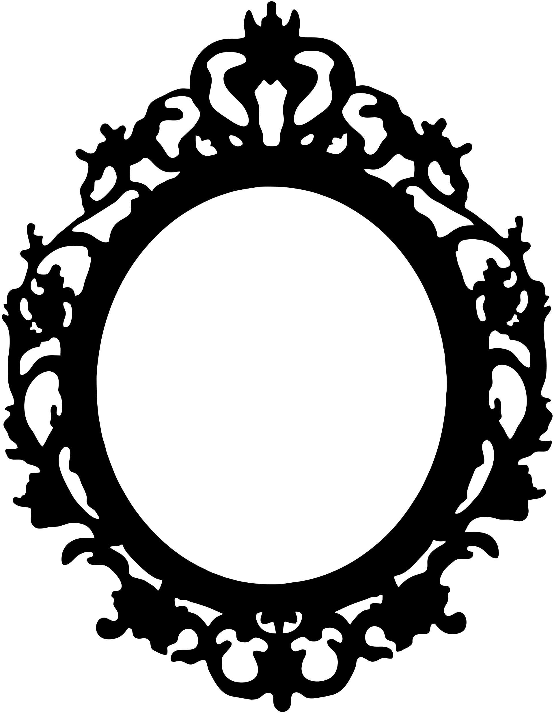 sizzix thinlits die frame ornate oval. vintage baroque oval ornate.