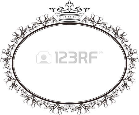 17,778 Frame Oval Cliparts, Stock Vector And Royalty Free Frame.
