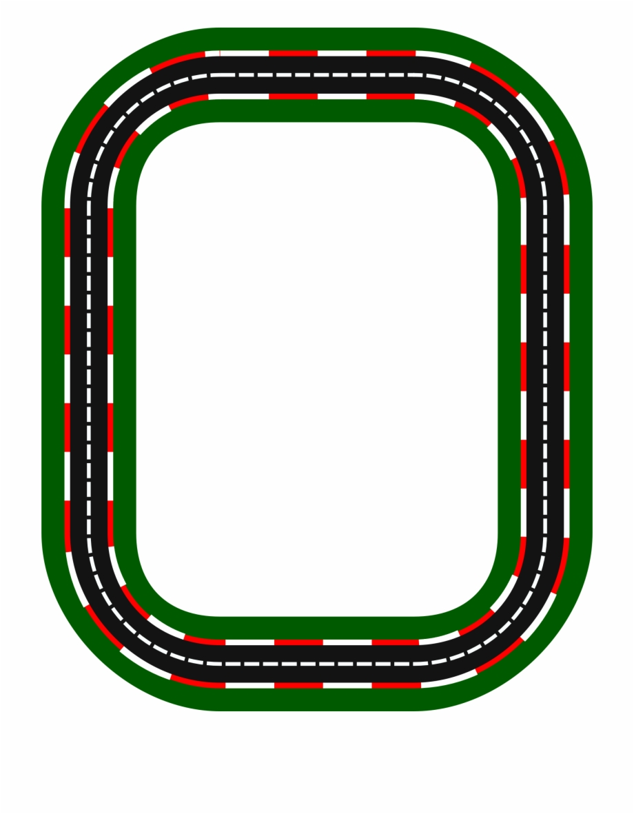 Race Track Road Clipart , Png Download.