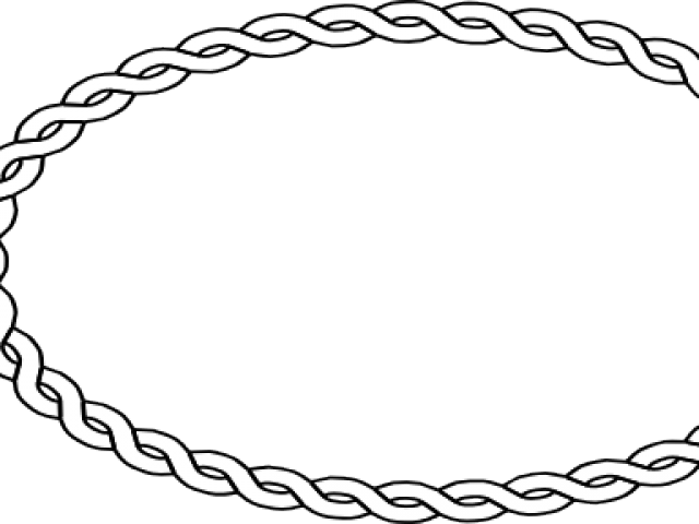 Clipart Wallpaper Blink Oval Rope Border Png.