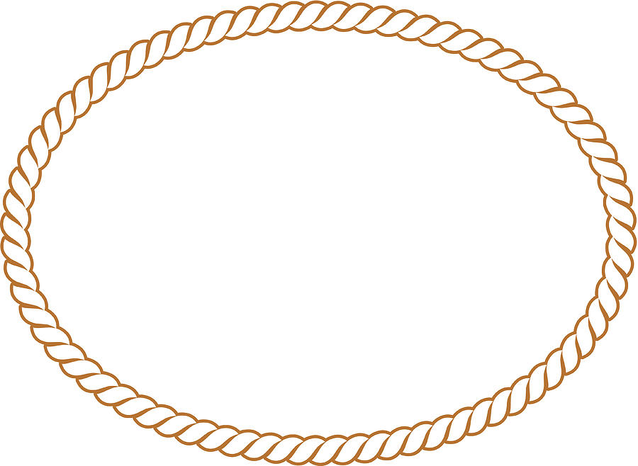 Vector Rope Oval.
