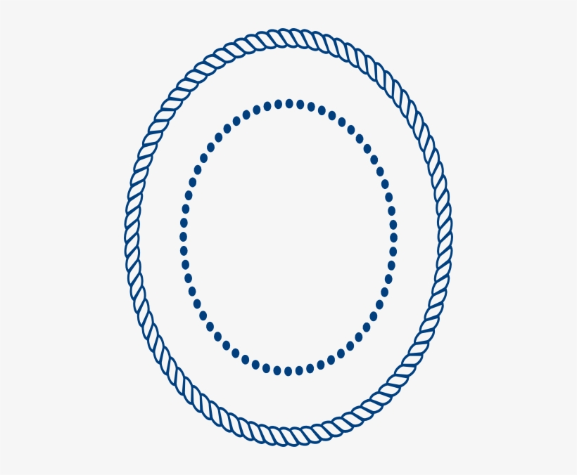 Rope Clipart Oval.