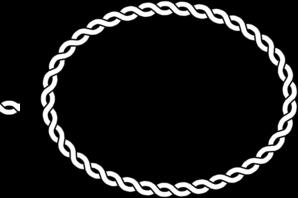 Rope Border Oval Clip Art at Clker.com.