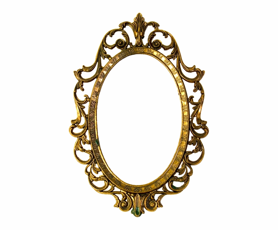 Mirror Clipart Oval Shaped Object.