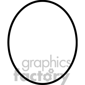 Clipart oval.