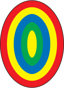 Oval Rug Clipart.