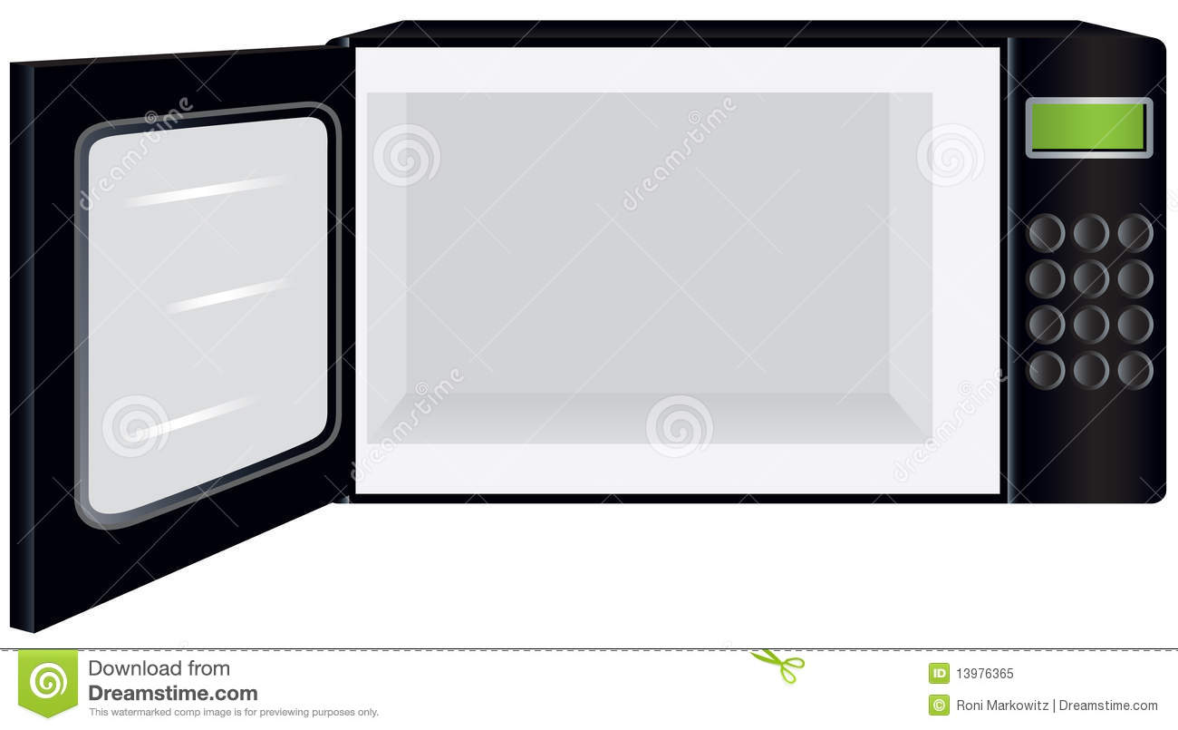 Open Oven Clipart.