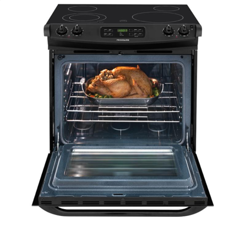 FFES3025PB in Black by Frigidaire in Newcastle, ME.