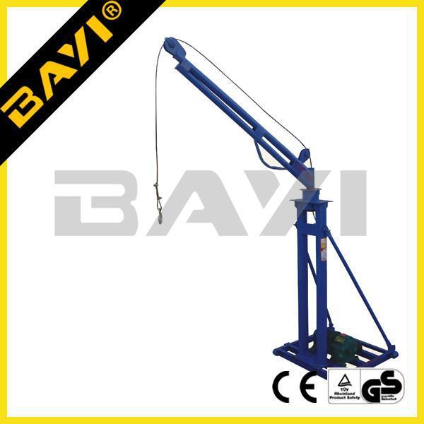 400kg 180 Degree Rotation Mini Hoist Winch Lift Crane Used In The.