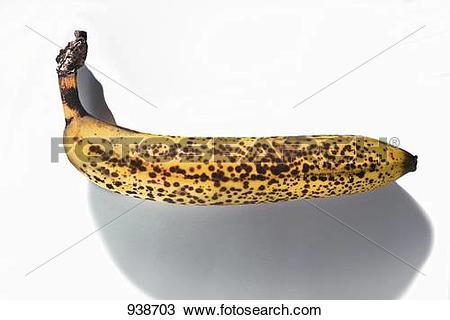 Stock Photo of An overripe banana 938703.