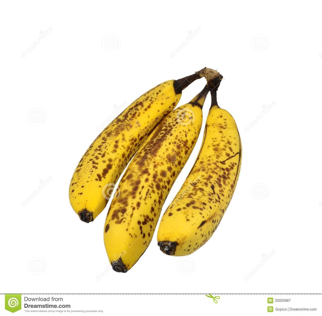 Ripe banana clipart.