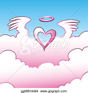 Clip Art Fluffy Clouds Heavenly Clipart.