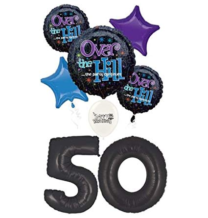 Amazon.com: Over The Hill 50th Birthday Party Event Bouquet.