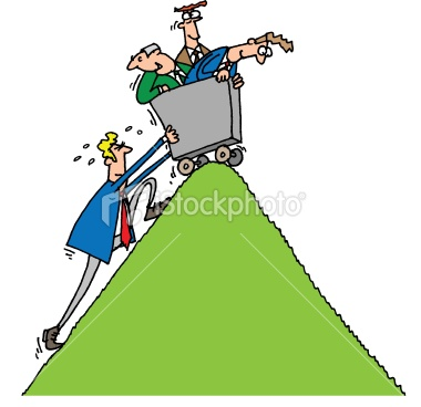 Over The Hill Clipart.