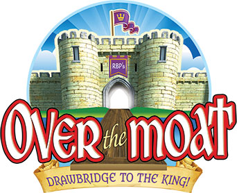 Over the Moat Logo & Print License VBS 2017.