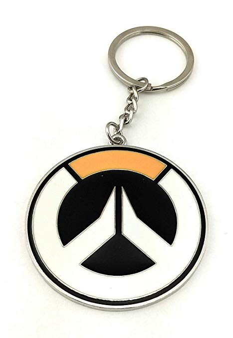Surreal Entertainment Blizzard Overwatch Enamal Metal Keychain (Overwatch  Logo).