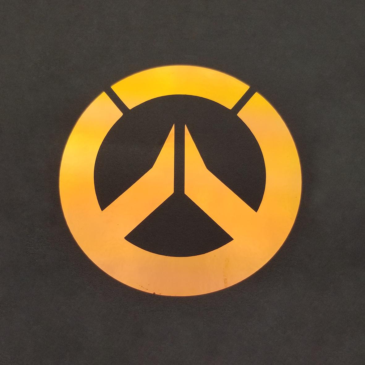 Overwatch Logo Holographic Vinyl.