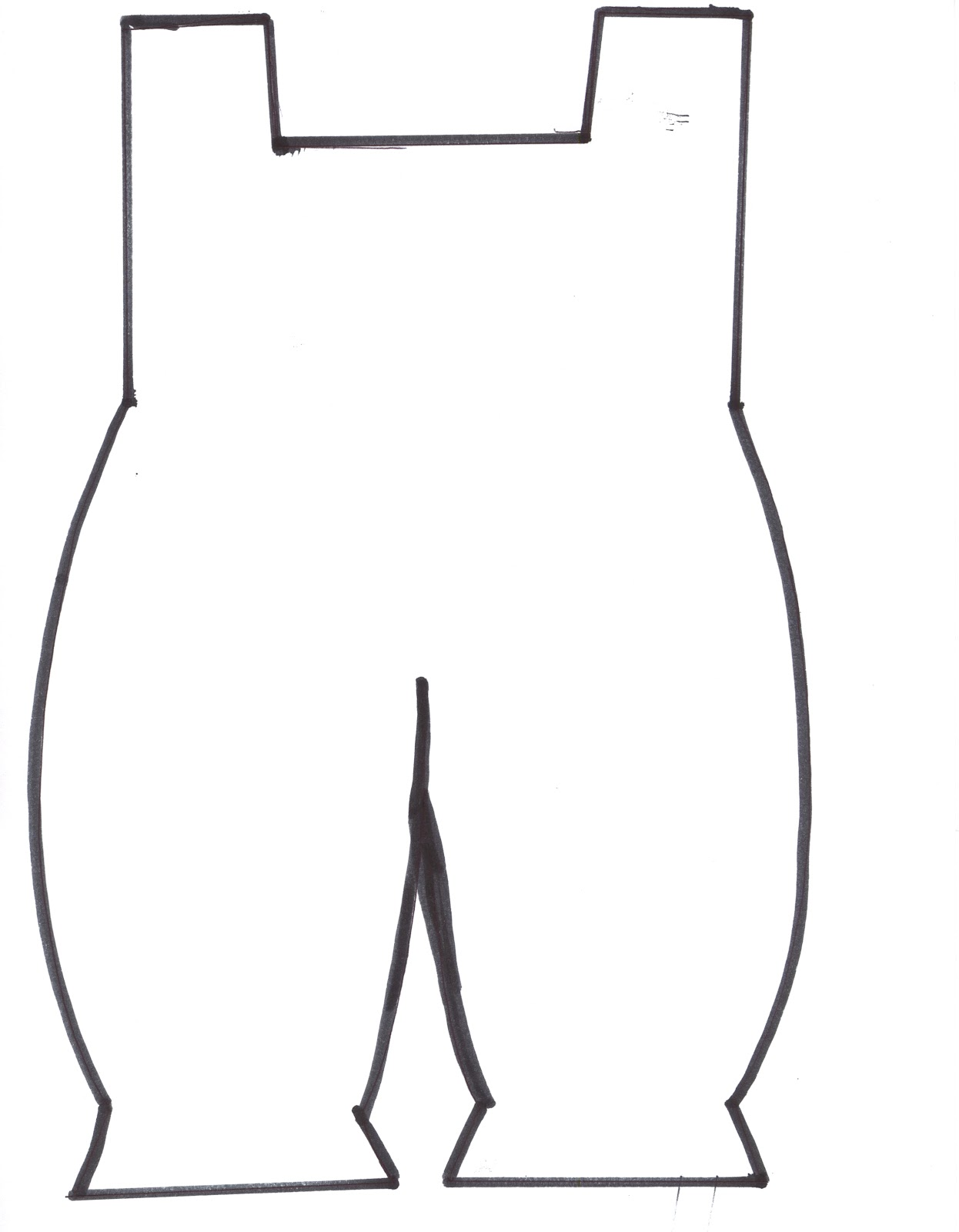 Overalls Clipart.