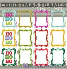 FREE Chalkboard Circle Frames (Priceless Doodles Clipart Set.