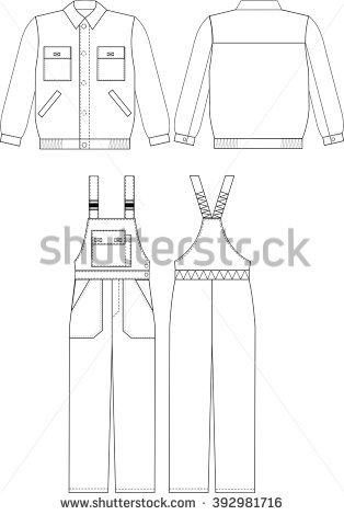 Overalls Stock Images, Royalty.