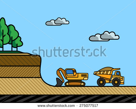 Overburden Stock Vectors & Vector Clip Art.