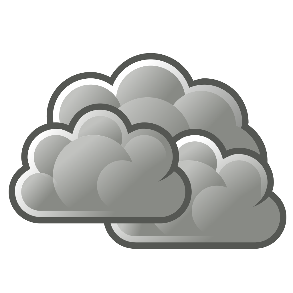 Showing post & media for Cool and cloudy weather symbol.