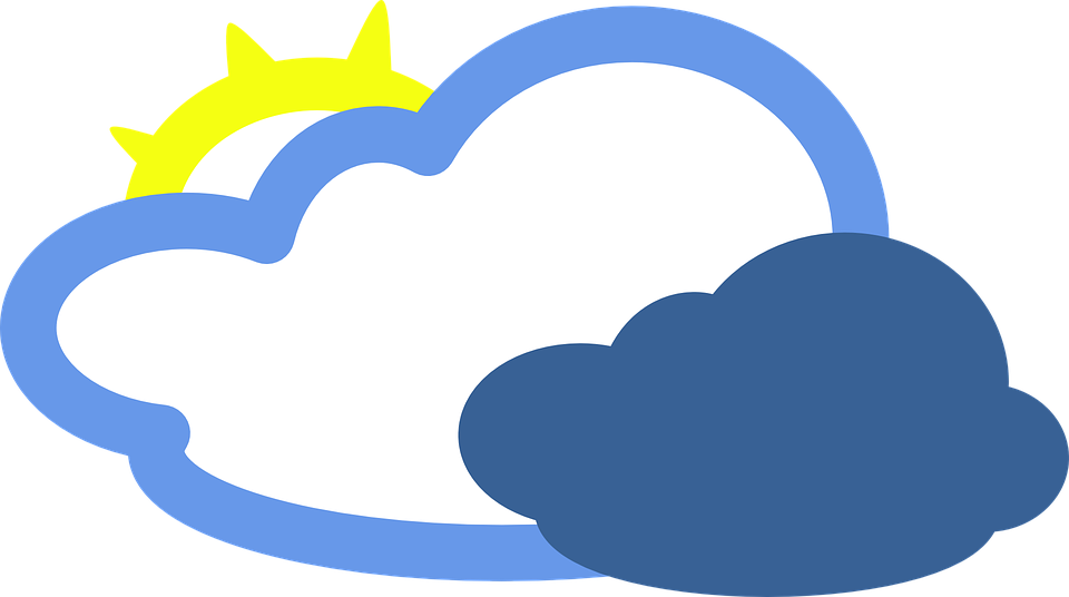 Free vector graphic: Cloudy, Sunny, Cloud, Overcast.