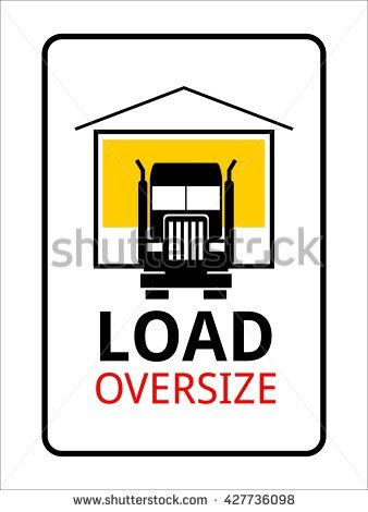 Oversized Cargo Stock Photos, Royalty.