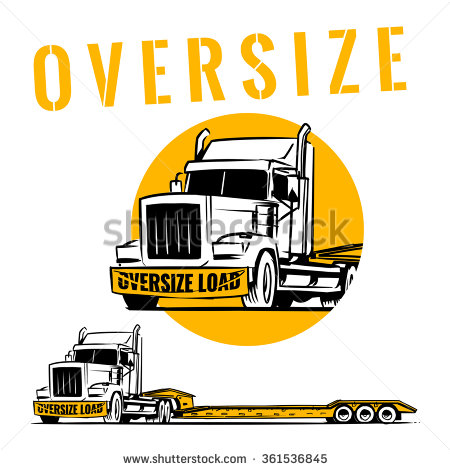 Oversize Load Stock Photos, Royalty.
