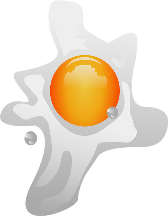 Free vector graphic: Fried Egg, Egg Sunny.