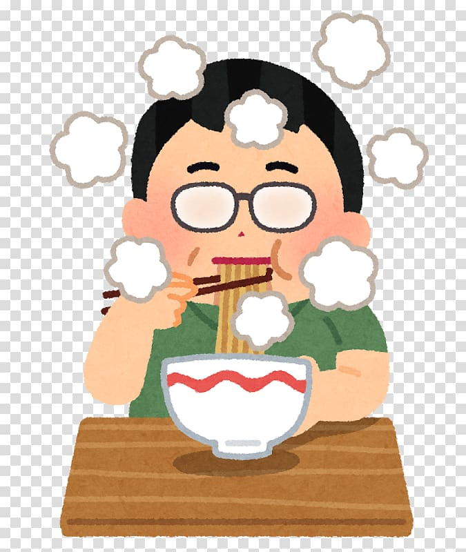 Overeating Food いらすとや Appetite, megane transparent.