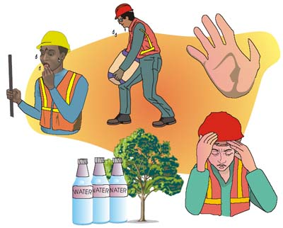 Types of Construction Site Injuries.