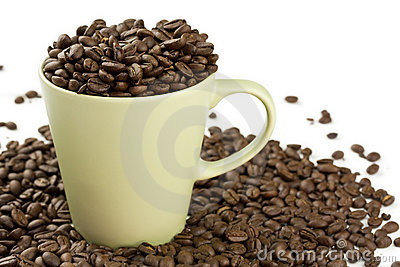 Overflowing Coffee Cup Stock Photos, Images, & Pictures.