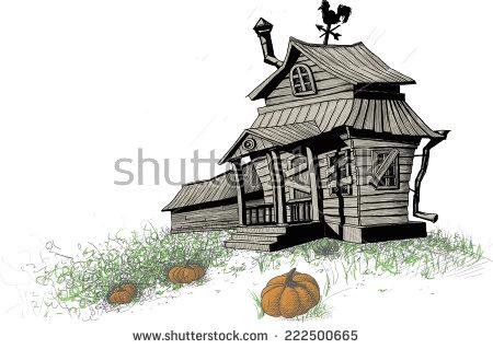 Overgrown House Stock Photos, Royalty.