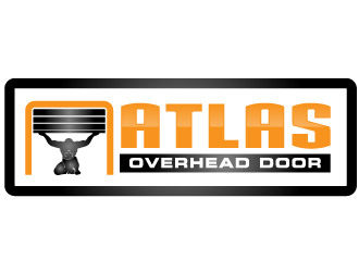 Atlas Overhead Door logo design.