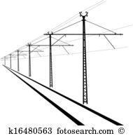 Overhead lines Clipart EPS Images. 153 overhead lines clip art.