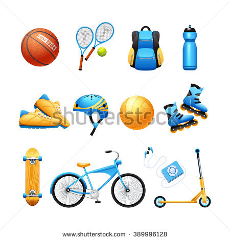 Sport Equipment Stock Photos, Royalty.
